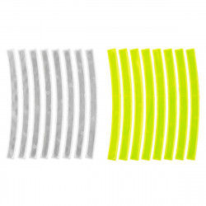 "Set Stikere Reflectorizante ( 1set/16buc ) M-WAVE ""REFLICKERS BOW"" 0,7x10 CM"