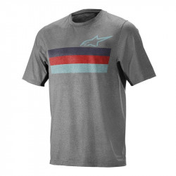 Tricou Alpinestars Alps 6.0 SS Melange/Grey/red M