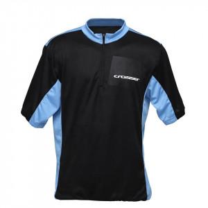 Tricou ciclism CROSSER CW-17-105 - Negru/Albastru XL