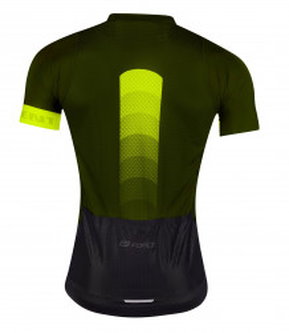 Tricou Force F Ascent Verde - Galben Fluo M