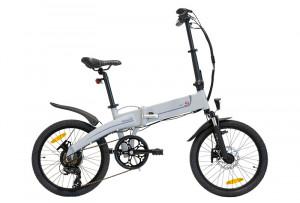 """Bicicleta eBIKE Pliabila ITALWIN K2S Grey Light 20x1.95"""" Autonomie 60 km"""