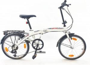 Bicicleta pliabila Sprint Probike Folding 20 6SP Alba