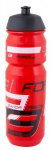 Bidon apa Force Savior 0.75l rosu/negru/alb