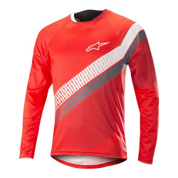 Bluza Alpinestar Predator LS Jersey red cherry/white XL