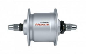 Butuc fata cu dinam Shimano DH-C3000 3V/3W 36 gauri