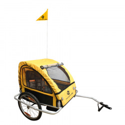 Carucior Transport Copii M-WAVE KIDS RIDE EASY, Aluminiu , 20""