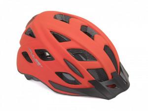 Casca Ciclism AUTHOR Pulse LED X8 52-58 cm Rosu Neon