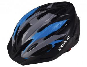 Casca Ciclism EXTEND ELEMENT (58-61 cm) Flamy/Albastru