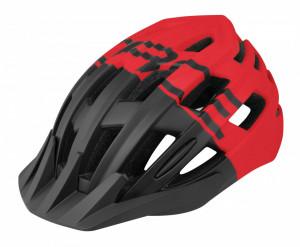 Casca Force Corella MTB negru/rosu L/XL