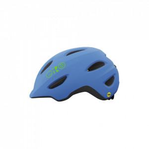 Casca Giro SCAMP albastru/lime mat