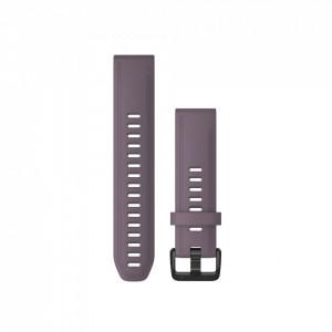 Curea Garmin Quickfit 20 silicon Purple Storm fenix 5S, 6S