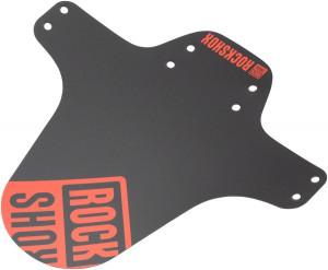 Fender RockShox MTB Black Fire Red Print