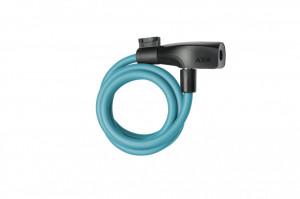 Incuietoare cablu AXA Resolute 120/8 - Ice Blue