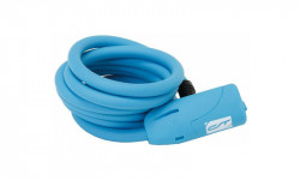 Incuietoare cablu CONTEC Neoloc 10mm*150cm - cheie Albastru