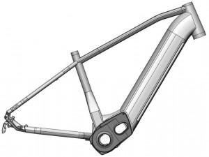 Kit E-Bike 27.5- 420 mm BROSE Gen2 MTB Hardtail S Mag 90 Nm