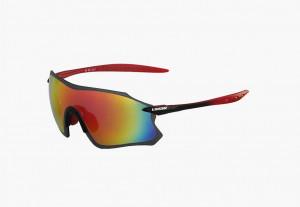 Ochelari LIMAR S9 PC - negru/rosu
