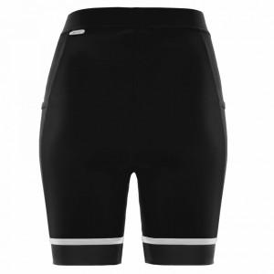Pantaloni scurti alergare FUNKIER Marsala - Negru/Alb S