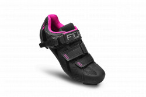 Pantofi ciclism FLR F-15 III Pro Road - Negru/Roz 37