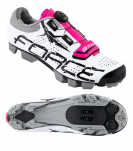 Pantofi MTB Crystal Dama, Alb-Roz 37