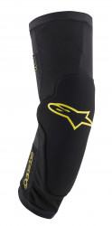 Protectii Genunchi Alpinestars Paragon Plus Black Acid Yellow L