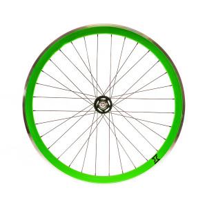 Roata Spate Single Speed/Fixie SXT 700-32H 40 mm Verde