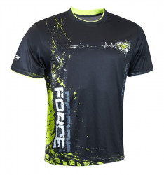 Tricou Force Art negru/fluo S