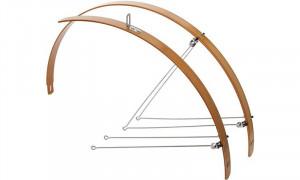 Aripi CONTEC Flat Fender 42mm Bambus - set