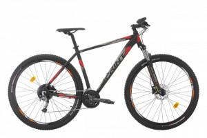 Bicicleta MTB Sprint Maverick Pro 27.5 NegruMat/Rosu 2021 400mm