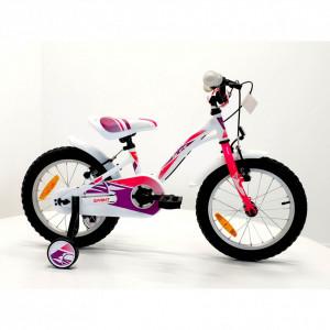Bicicleta Sprint Alice 16 1SP 2021 Alb Lucios/Roz