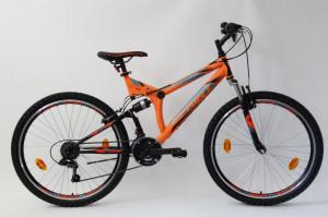 Bicicleta Sprint Element VB 26 2021 Portocaliu Neon/Negru Mat 460 mm