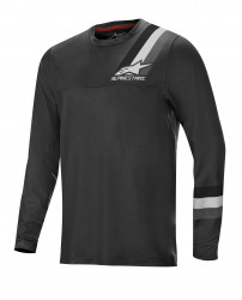 Bluza Alpinestars Alps LS Jersey 4.0 Melange/Dark Grey/Black XXL