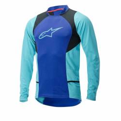 Bluza Alpinestars Drop 2 long Sleeve Jersey blue/stratos/aqua XL