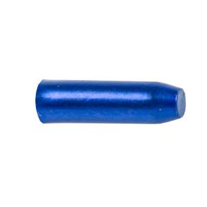 Capete Cablu CNC 1,7x10 mm M-WAVE Aluminiu Albastru Anodizat