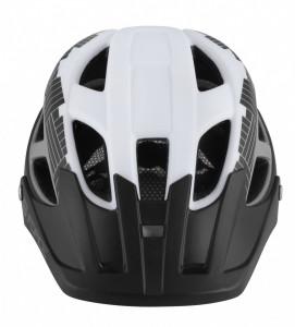 Casca Force Aves MTB E-bike, Alb-Negru Mat S-M