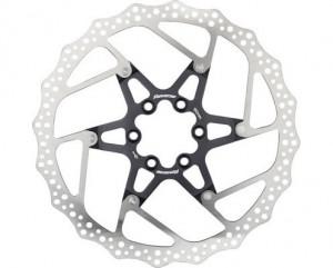 Disc frana Reverse Discrotor 180mm aluminiu/otel negru