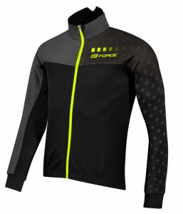 Jacheta Force X110 iarna negru/gri/fluo L