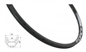 Janta Force Basic Disc 584x18 36h neagra
