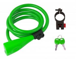Lacat Force F Silicon 120cm/10mm Cu suport Verde