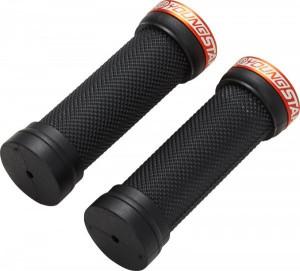Mansoane Reverse Youngstar Lock-on 28x98mm negru/portocaliu