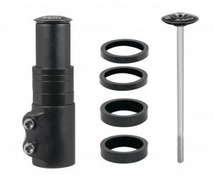 Prelungitor gat furca Force F-ECO 1.1/8 aluminiu negru