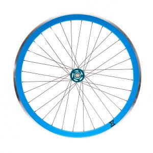Roata Spate Single Speed/Fixie SXT 700-32H 40 mm Albastru