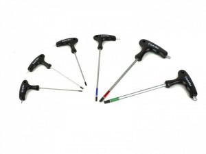 Set Inbus Hex AUTHOR CC TH 2-2,5-3-4-5-6 mm
