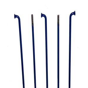 Spita Inox 2 mm cnSPOKE Albastru(250-260 mm)