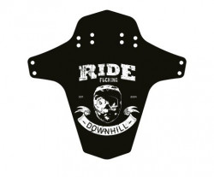 Aparatoare Reverse Ride Fucking Downhill negru/alb