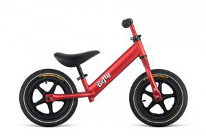 """Bicicleta Copii fara Pedale 12"""" DEMA BeFly LITTLE HERO Aluminiu Rosu"""