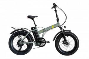 "Bicicleta Pliabila FAT e-Big WAYEL E-BIKE 20x4"" Sabbia Autonomie 75 km"
