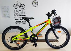 Bicicleta Sprint Hat Trick 20 2021 Verde Neon Mat