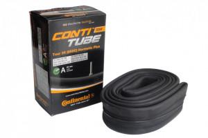 Camera bicicleta Continental Tour 26 Hermetic Plus D40 valva DUNLOP