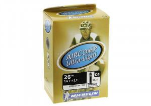 "Camera Michelin Aircomp Ultralight C4 26""x1.4/2.1"