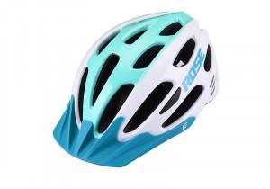 "Casca Ciclism ""Extend ROSE"" M-L (58-62 cm) Alb/Cyen"